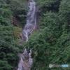 滝とフジフイルムカメラ
