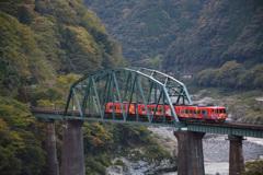 大歩危鉄橋