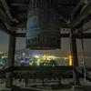 鐘楼と鞆の浦夜景