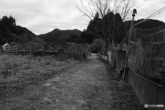 山中の農村