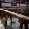 朝の行者橋