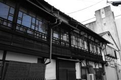 柳川町の路地裏