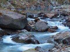 冬の丹下川
