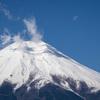 富士と朧月