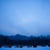 冬の夕刻を刻む
