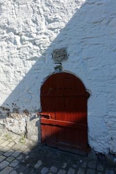 ベルゲンの赤い扉