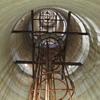 無線塔遺構内部