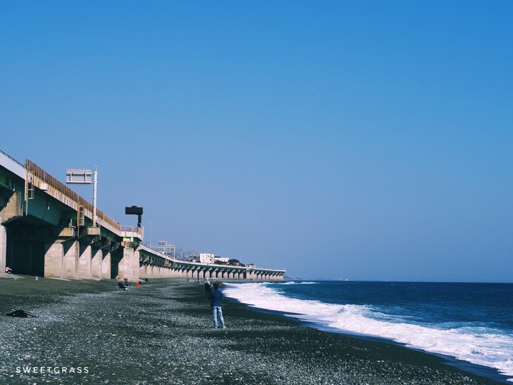 Seishou coast in winter