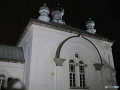 夜のハリスト正教会復活聖堂