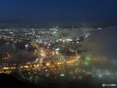 函館山から臨む函館夜景
