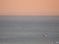 伊東の海の夕焼け