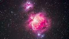オリオン大星雲 HDR処理