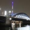 ブルーの駒形橋〜隅田川に架かる橋❕