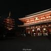 夜は美しい浅草寺の魅力的な❕