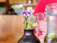 テーブルの華