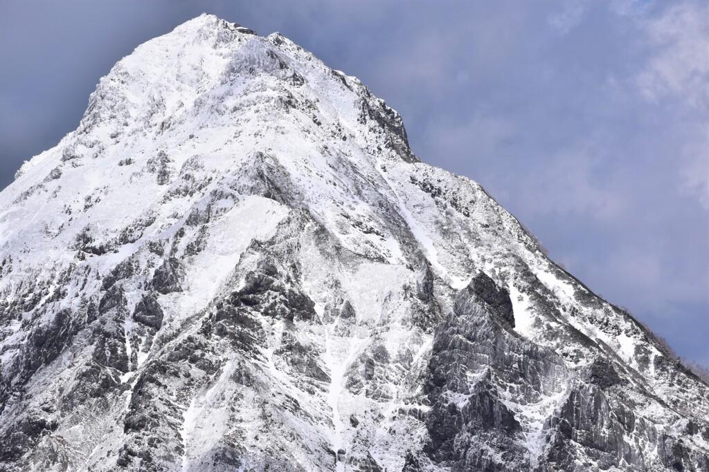 権現岳山頂からの赤岳