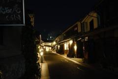 美観地区の夜をぶらり