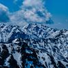空木岳と南駒ヶ岳