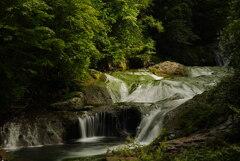 夏の奥蓼科:おしどり隠しの滝*2
