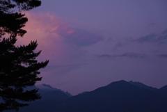八ヶ岳の夕暮れ*2