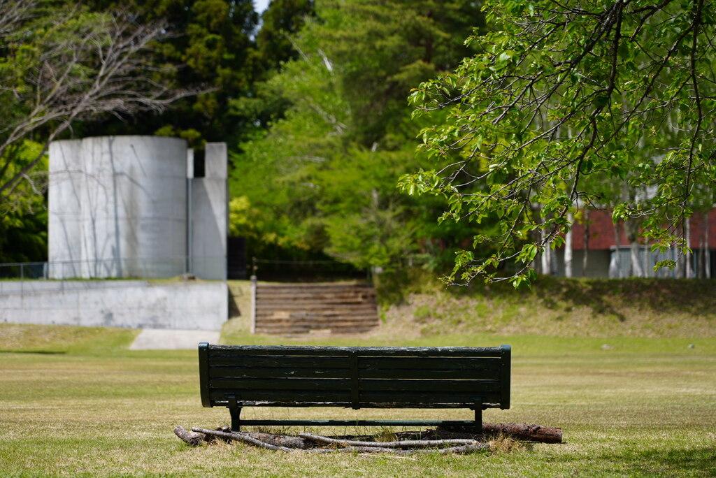 春のベンチ*1