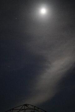 夜の八ヶ岳高原:ビニールハウス*6