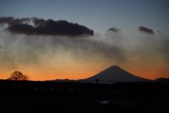 追想:ある冬の日の富士