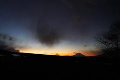 追想:朝焼け〜ある日の富士〜