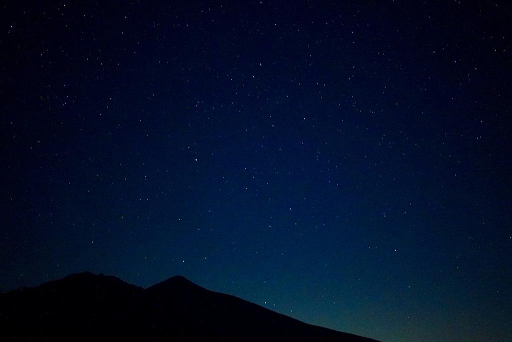 星と八ヶ岳