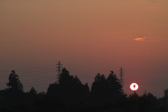 sunrise on 9,Jun 2021