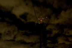 淀んだ四日市の雲