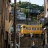 黄色い列車が行く