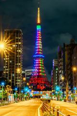 東京タワー×オリンピック