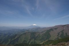 丹沢からの富士山