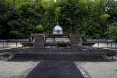 唐招提寺にて