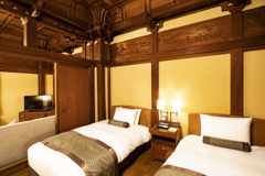 箱根老舗ホテルにて