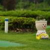 パークゴルフ場の可愛いプランター