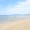 どこまでも続く砂浜