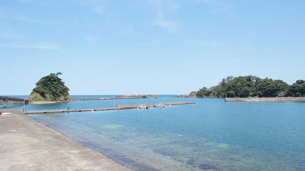 綺麗な日本海(福井県高浜町)