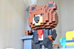 熊ナノブロック(キャラ不明)