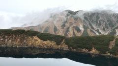 みくりが池から見る立山連峰