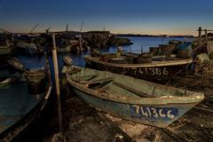 セート 夜明けの漁港(1)