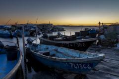 セート 夜明けの漁港(2)