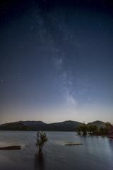 サラグー湖の星空