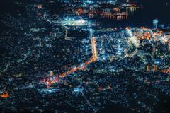 呉市街夜景