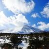 真っ白な浅間山 Ⅱ