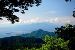 富士見テラスからの富士山