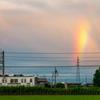 電車と虹(3)