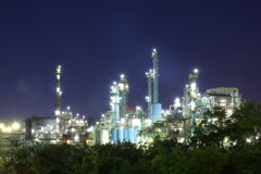 素敵な工場夜景