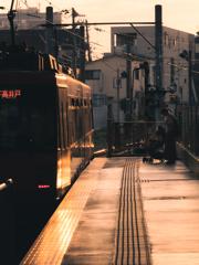 世田谷夕景